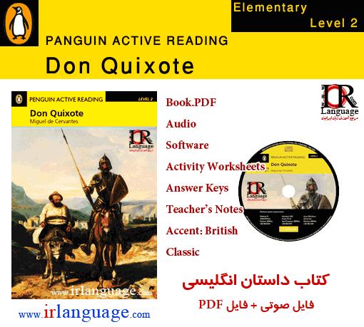 دانلود کتاب داستان انگلیسی سطح 2 Don Quixote